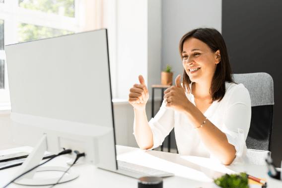Online Sprachkurs mit Sprachtrainer